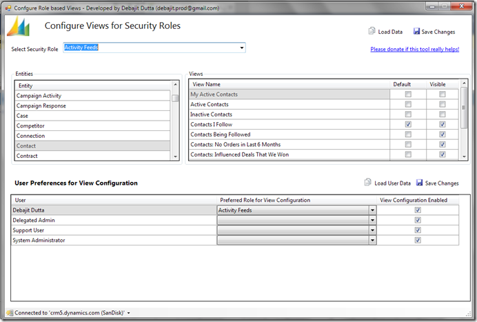 Role Based Views in Microsoft Dynamics CRM | 365