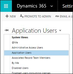 Create users and assign Microsoft Dynamics 365 (online) securityroles