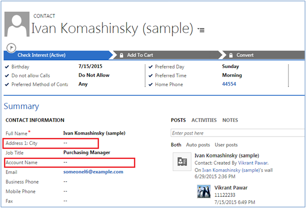 Filter Dynamics CRM Lookup Values withJavascript