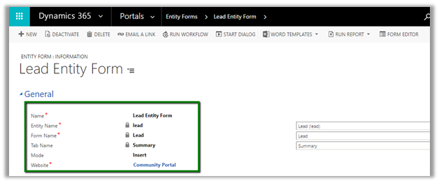 Disable/enable fields, sections, tabs and the whole form on Microsoft Dynamics CRM/365