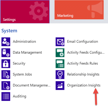 How to Install and View Organization Insights for Dynamics 365