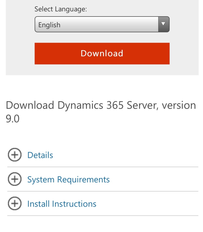 Dynamics 365 Server (on-premises) v9 is here!