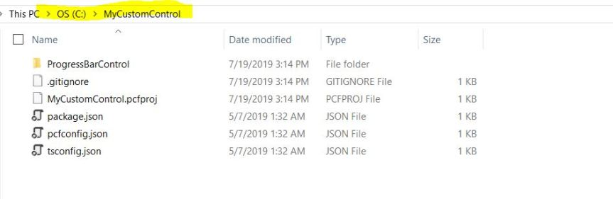 How To set up your first PowerApps Custom Componentproject