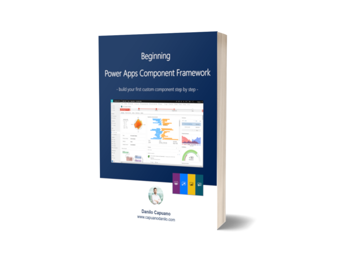 Free eBook: Beginning Power Apps Component Framework – build your first custom component step by step